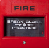 Fire Alarm Point — Stock Photo