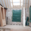 Interior of Building under construction - Stock Photo
