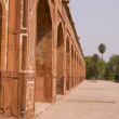 Humayuns Tomb, Delhi - Stock Photo