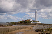 St Mary's Lighthouse — Stock Photo