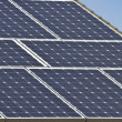 Close up of solar energy array — Stock Photo #11290449