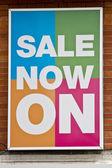 Satılık poster — Stok fotoğraf