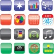 Iphone and Ipad Icons - Set 1 - Stock Vector