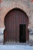 Porta arco a ferro di cavallo — Foto Stock