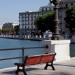Bari. Embankment — Stock Photo