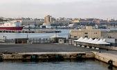 Seaport. Bari, Italy. — Stock Photo