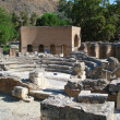 Stock Photo: Crete Amphitheater