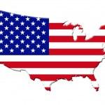 在文本中的树アメリカ合衆国 — ストック写真