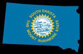 State of South Dakota — Stock Photo