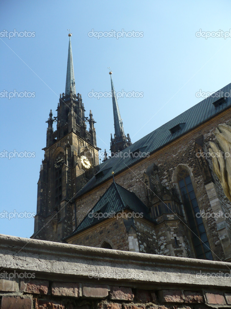 Brno - cathedral — Stock Photo #11097092