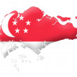 Republic of Singapore - Stock Photo