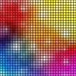 Colorful mosaic vector background. — Stock Vector