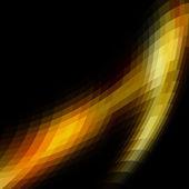 Sfondo astratto colorato mosaico oro — Vettoriale Stock