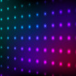 Abstract colorful club lights wall vector background. — Stock Vector #12261423