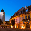 Sibiu - night view — Stock Photo #11030783