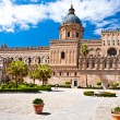 The Cathedral of Palermo - Stock Photo