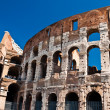 Ancient roman amphitheater Colloseum, Rome — Stock Photo