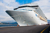 Cruise Ship Bow — Stock Photo