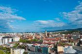 Vista aérea de cluj-napoca, rumanía — Foto de Stock