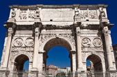 Constantin gate in rome front view — Stock Photo