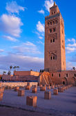 Koutubia mosque in Marakesh — Stock Photo