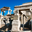 Fountain of Trajan detail in Ephesus (Efes). — Stock Photo