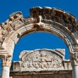 Temple of Hadrian in Ephesus (Efes) from Roman time. — Stock Photo
