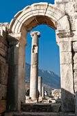 Gate in Odeion, Ephesus, Izmir, Turkey — Stock Photo