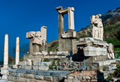 Memmius Monument at the ruins of Ephesus in Turkey — Stock Photo