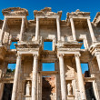Celsus Library in Ephesus - Stock Photo