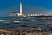 King Hassan II Mosque, Casablanca, Morocco — Stock Photo