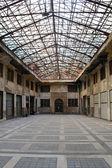 Salón de la industria abandonada — Foto de Stock
