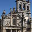 Church of the Lady of the Favour in the city of Evora — Stock Photo