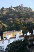 Moorish castle in Sintra, Portugal — Stock Photo