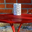 Red table — Stockfoto #11315088