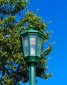 Green Lamppost — Stock Photo