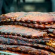 Stock Photo: Stack of Ribs