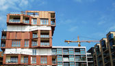 Building construction in Germany — Stock Photo