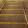 Stock Photo: Escalator steps