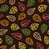 Autumn seamless pattern — Stockvektor