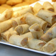 Stock Photo: Fried spring rolls