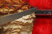 Chicken shawarma — Stock Photo