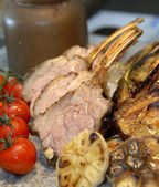 Roasted lamb — Foto de Stock
