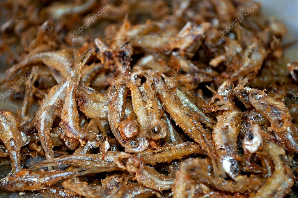 Close of a lot of tetra fish fried, delicious   Stock fotografie #11059561