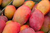Pretty closse of many mangos — Zdjęcie stockowe