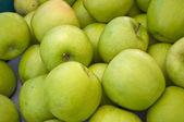 Green Apple background — Стоковое фото