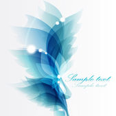 Abstract vintage blue — Stock Vector