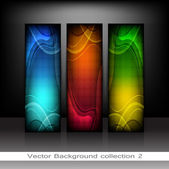 Collection Headers — Stock Vector