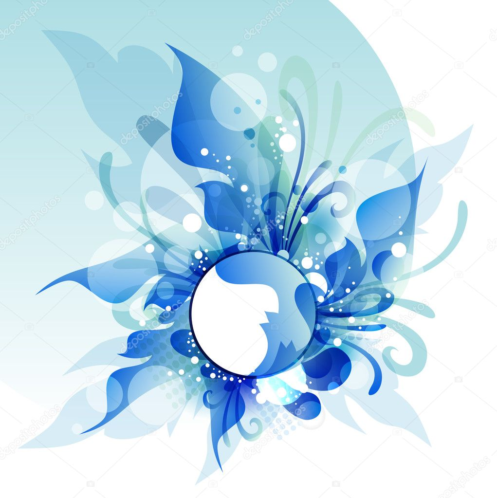 blue flower backgrounds vector - photo #20