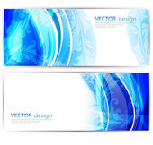 Vector website headers — Stock Vector